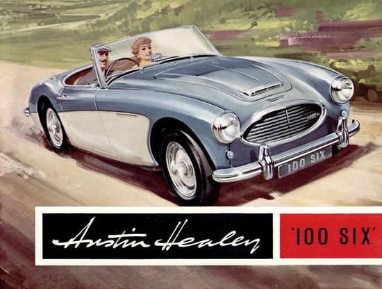 Austin Healey 100 Six 1958 | Vintage Cars 1891-1970