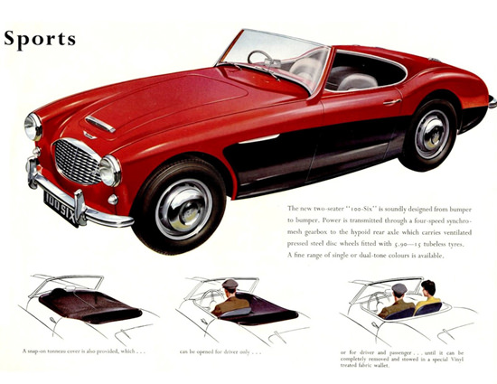 Austin Healey 100 Six Sports 1958 | Vintage Cars 1891-1970
