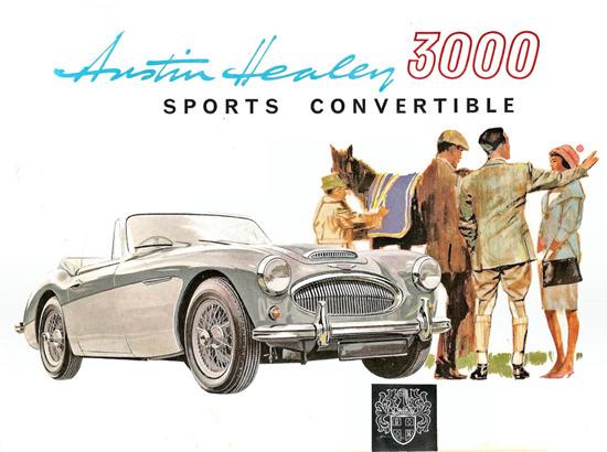Austin Healey 3000 Sports Conv 1963 Silver | Vintage Cars 1891-1970
