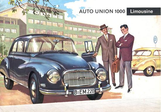Auto Union 1000 Limousine 1959 | Vintage Cars 1891-1970