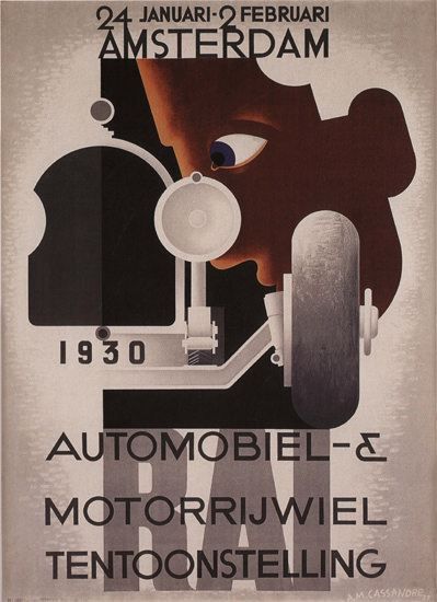 Automobiel Tentoonstelling 1930 Amsterdam NL | Vintage Ad and Cover Art 1891-1970