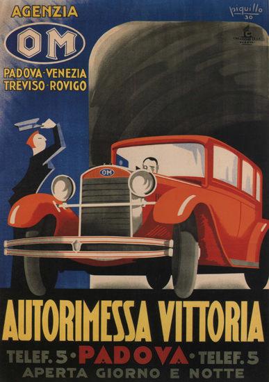 Autorimessa Vittorina OM Padova Venezia 1930 | Vintage Cars 1891-1970