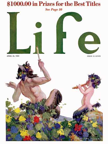 B Cory Kilvert Life Humor Magazine 1923-04-26 Copyright   Life Magazine Graphic Art Covers 1891-1936