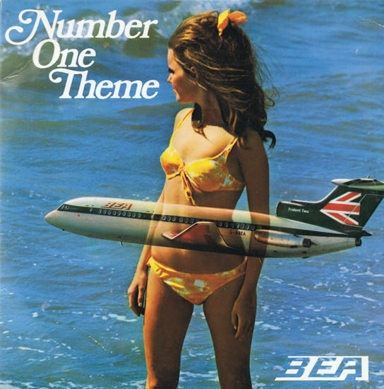 BEA Number One Theme Beach Girl 1969 | Sex Appeal Vintage Ads and Covers 1891-1970