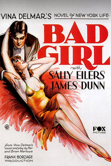 Bad Girl Sally Eilers James Dunn Movie 1931 | Sex Appeal Vintage Ads and Covers 1891-1970
