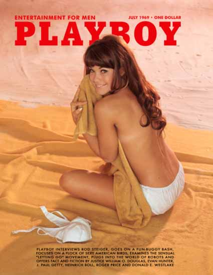 Barbara Klein Barbi Benton Playboy 1969-07 Copyright Sex Appeal | Sex Appeal Vintage Ads and Covers 1891-1970