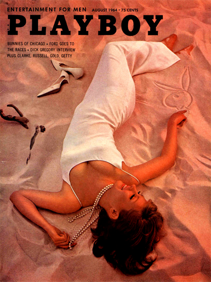 Barbara Reeves Playboy Magazine 1964-08 Copyright Sex Appeal | Sex Appeal Vintage Ads and Covers 1891-1970