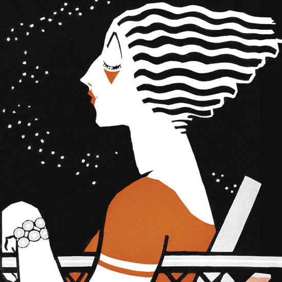 Barbara Shermund The New Yorker 1925_06_13 Copyright crop | Best of 1920s Ad and Cover Art