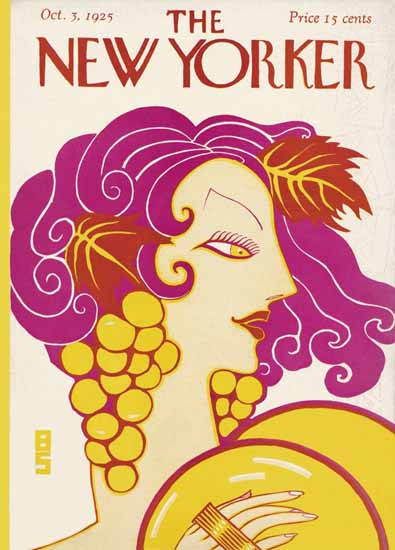 Barbara Shermund The New Yorker 1925_10_03 Copyright | The New Yorker Graphic Art Covers 1925-1945