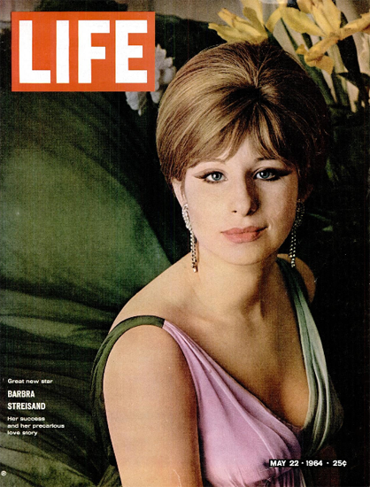 Barbara Streisand her Love Story 22 May 1964 Copyright Life Magazine | Life Magazine Color Photo Covers 1937-1970