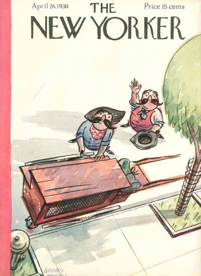 Barney Tobey The New Yorker 1930_04_26 Copyright | The New Yorker Graphic Art Covers 1925-1945
