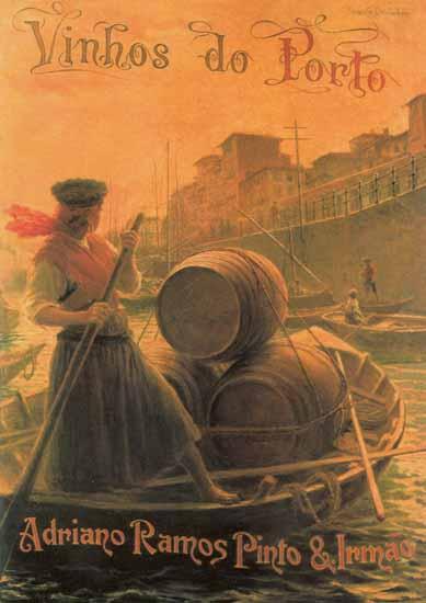 Barrel Barcos Rabelos Ramos Pinto Porto   Vintage Ad and Cover Art 1891-1970