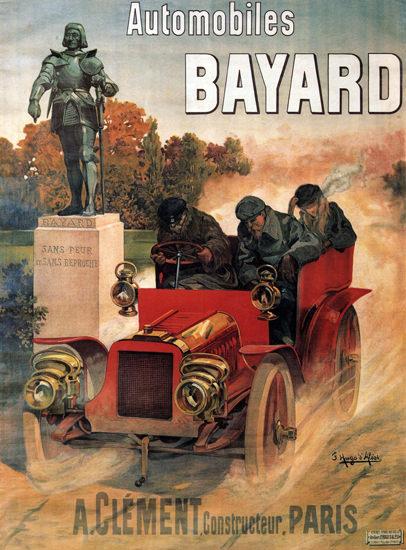 Bayard Automobiles Constructeur Clement Paris | Vintage Cars 1891-1970