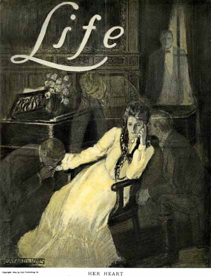 Bayard Jones Life Humor Magazine 1904-10-20 Copyright | Life Magazine Graphic Art Covers 1891-1936