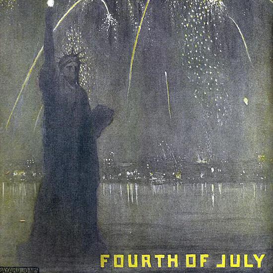 Bayard Jones Life Magazine Liberty 1905-07-06 Copyright crop   Best of 1891-1919 Ad and Cover Art