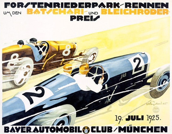 Bayer Automobil Club Muenchen 1925 | Vintage Cars 1891-1970