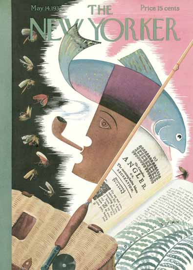 Bela Dankovszky The New Yorker 1932_05_14 Copyright | The New Yorker Graphic Art Covers 1925-1945