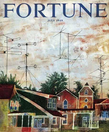 Ben Shahn Fortune Magazine July 1949 Copyright   Fortune Magazine Graphic Art Covers 1930-1959