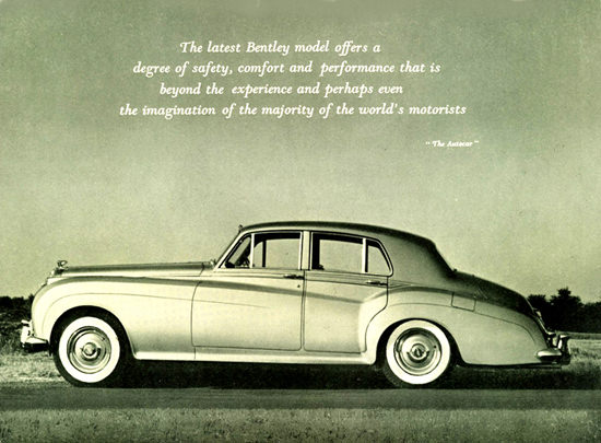 Bentley S Series S 1 Sedan 1958 | Vintage Cars 1891-1970