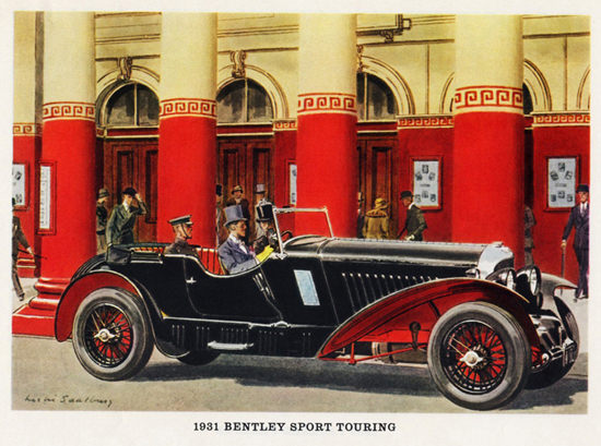 Bentley Sport Touring 1931 | Vintage Cars 1891-1970