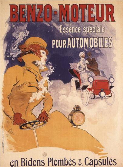 Benzo-Moteur Essence Speciale Pour Automobiles | Vintage Ad and Cover Art 1891-1970