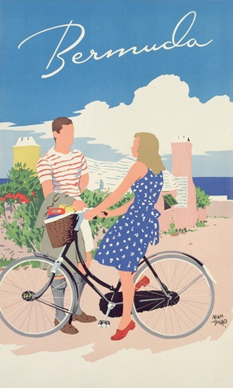 Bermuda Bicycles 1956 | Sex Appeal Vintage Ads and Covers 1891-1970