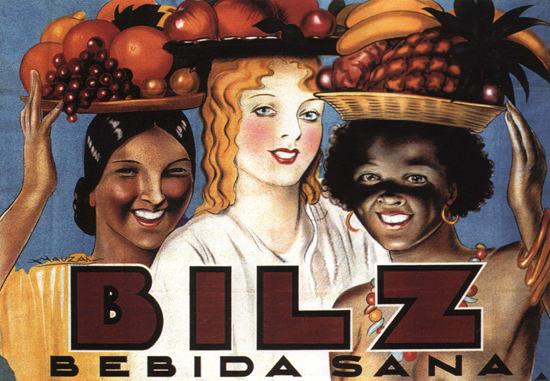 Bilz Bebida Sana Argentina Beverages Fruit Girls | Sex Appeal Vintage Ads and Covers 1891-1970