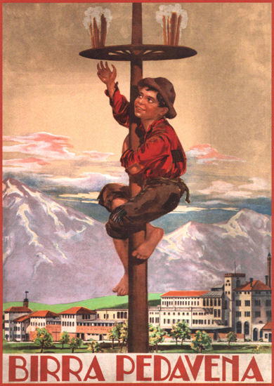 Birra Padavena Italy Italia | Vintage Ad and Cover Art 1891-1970