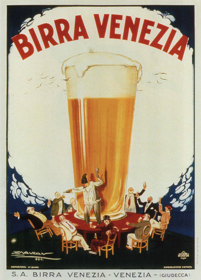 Birra Venezia Italy Italia | Vintage Ad and Cover Art 1891-1970