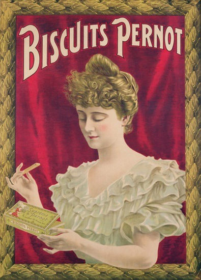 Biscuits Pernot 1902 | Sex Appeal Vintage Ads and Covers 1891-1970