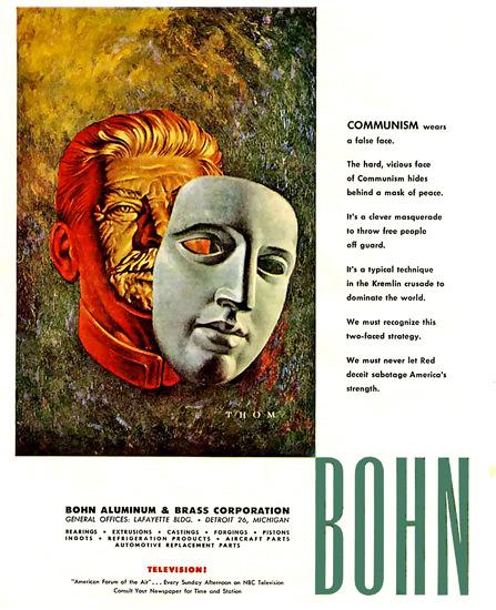 Bohn Aluminum Co Stalin   Vintage War Propaganda Posters 1891-1970