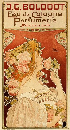 Boldoot Eau De Cologne Parfumerie Amsterdam | Sex Appeal Vintage Ads and Covers 1891-1970