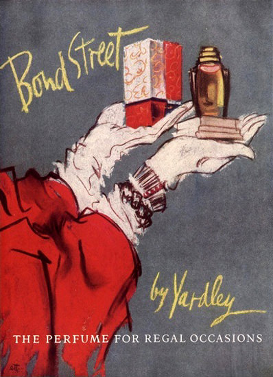Bond Street By Yardley The Perfume | Vintage Ad and Cover Art 1891-1970