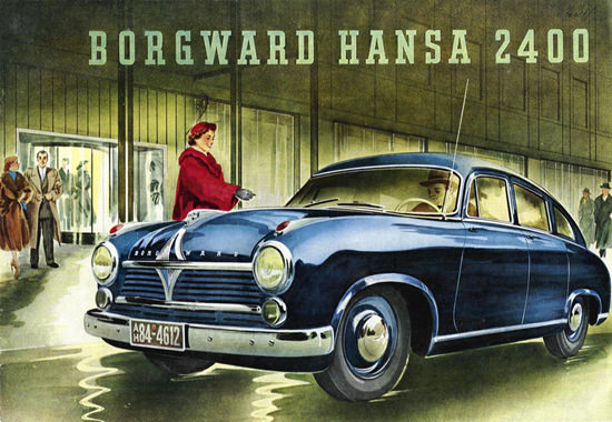 Borgward Hansa 2400 Model 1952 | Vintage Cars 1891-1970