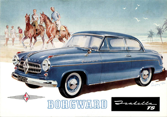 Borgward Isabella TS 1958 | Vintage Cars 1891-1970