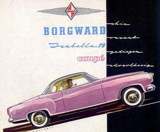 Borgward Isabella TS Coupe 1957 | Vintage Cars 1891-1970