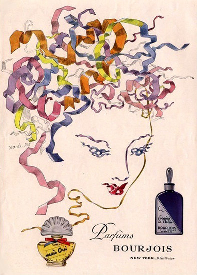 Bourjois Perfums New York | Sex Appeal Vintage Ads and Covers 1891-1970
