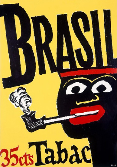 Brasil Tabac 35 cts Moor | Vintage Ad and Cover Art 1891-1970