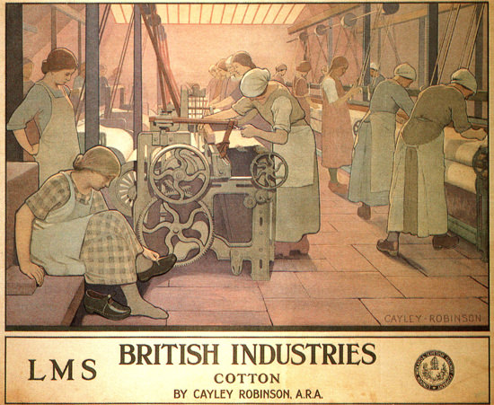 British Industries Cotton LMS United Kingdom | Vintage Ad and Cover Art 1891-1970