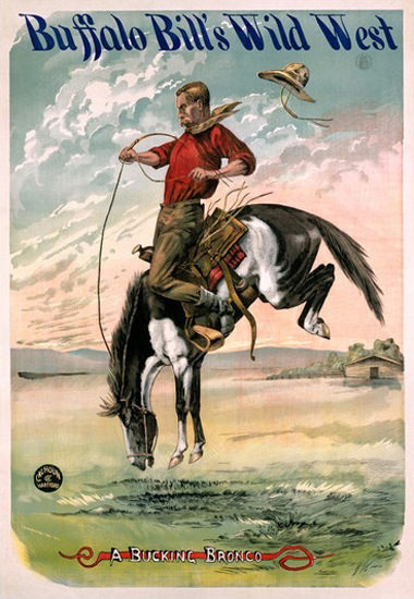 Buffalo Bills Wild West Bucking Bronco Ranch | Vintage Ad and Cover Art 1891-1970