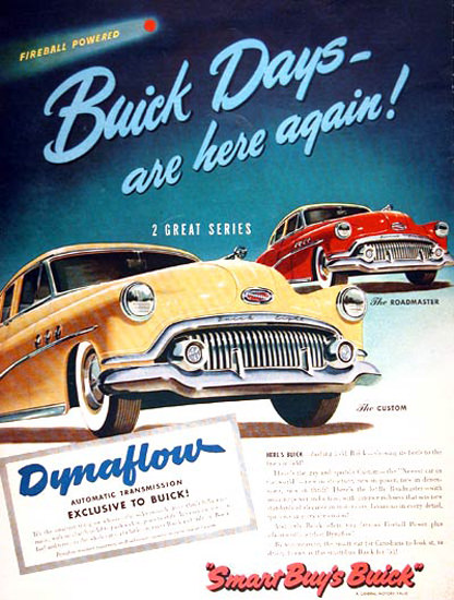 Buick 1951 Yellow Custom Red Roadmaster | Vintage Cars 1891-1970