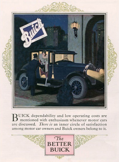Buick Automobile Better Night | Vintage Cars 1891-1970
