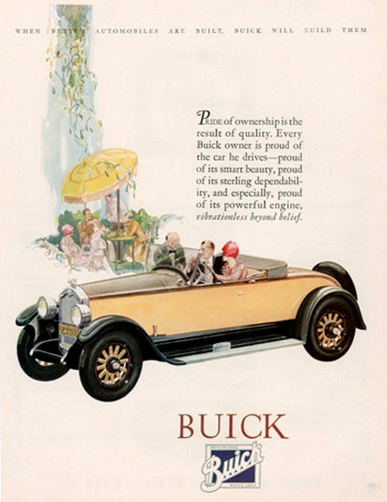 Buick Automobile Pride Of Ownership Summer | Vintage Cars 1891-1970