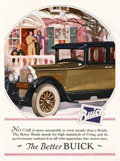 Buick Automobile The Better Family | Vintage Cars 1891-1970