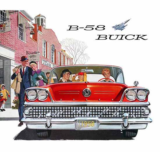 Buick B-58 1958 Ad | Vintage Cars 1891-1970