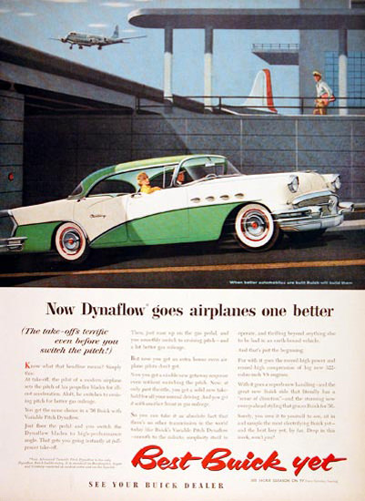 Buick Century 1956 Green White Dynaflow | Vintage Cars 1891-1970