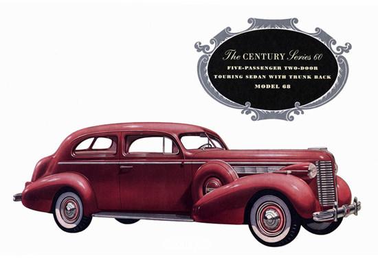 Buick Century Series 60 Touring Sedan 1938 | Vintage Cars 1891-1970
