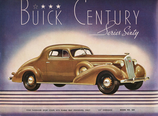 Buick Century Series Sixty Sport Coupe 1936 | Vintage Cars 1891-1970