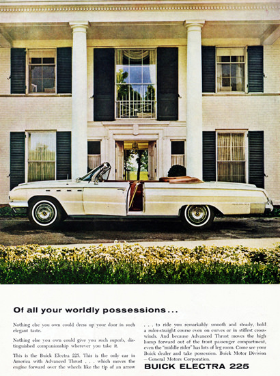 Buick Electra 225 Convertible 1962 Possessions | Vintage Cars 1891-1970