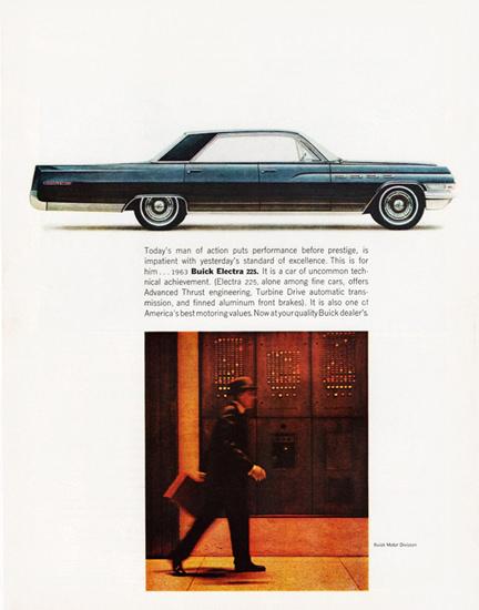 Buick Electra 225 Hardtop 1963 Businessman | Vintage Cars 1891-1970